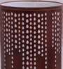 Brown Iron Rain Drop Table lamp by Height of Designs