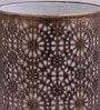 Gold Iron Circles Table Lamp by Height of Designs