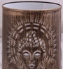 Gold Iron Holy Budha Table Lamp by Height of Designs