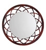 Height of Designs Multicolour Engineered Wood Anise Mirror