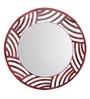Height of Designs Multicolour Engineered Wood Woolemi Mirror