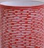 Orange Iron Bricks Table Lamp by Height of Designs