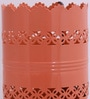 Orange Iron Horizontal Cutwork Table Lamp by Height of Designs