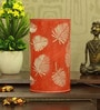 Orange Iron Palm Tree Leaf Table Lamp by Height of Designs