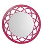 Height of Designs Pink Engineered Wood Anise Mirror