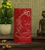 Pink Iron Lord Ganesha Table Lamp by Height of Designs