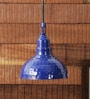 Blue 40W LED Pendant Light by Height of Designs