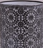 Silver Iron Circles Table lamp by Height of Designs