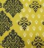 Heritagefabs Yellow Cotton Desire 6-piece Diwan Set