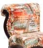 Lorraine Chair in Abstract Print by Amberville