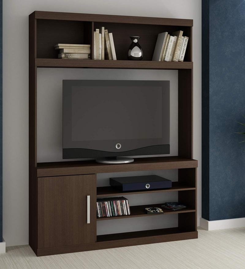 Hinata Entertainment Unit in Tobacco Finish by Mintwud