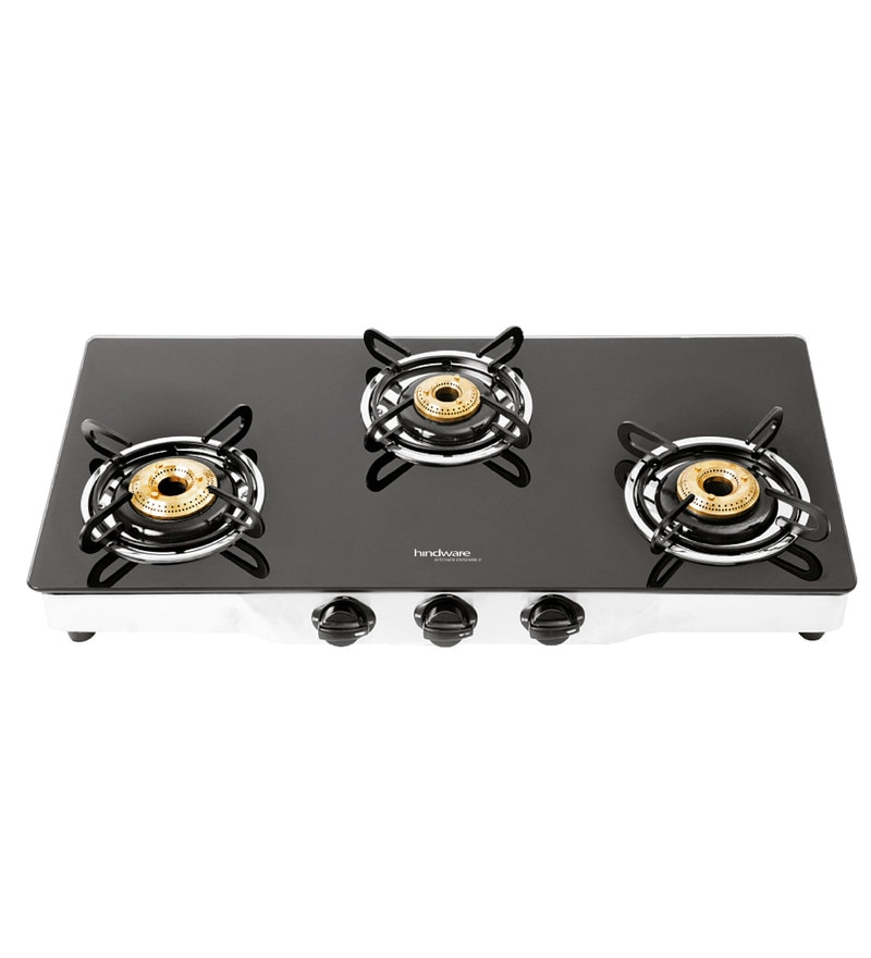 Hindware Armo GL AI 3 Burner Gas Cooktop