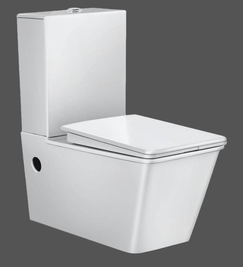 Hindware Atlanta Star White Ceramic Water Closet (Model: 92098)
