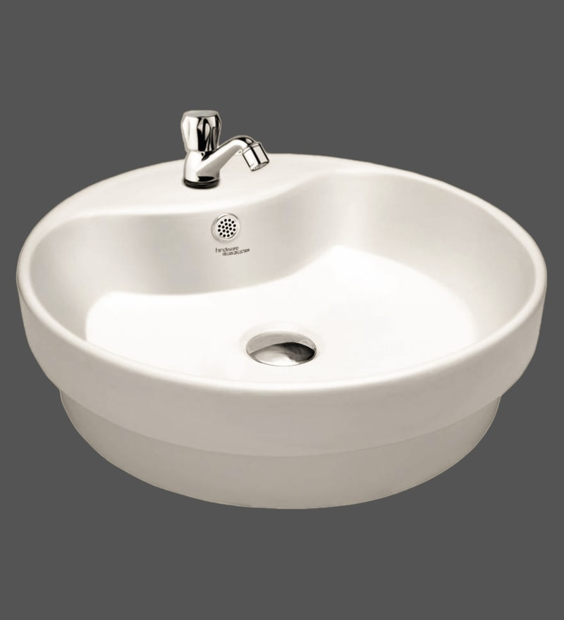 Hindware Ceffo Ivory Ceramic Basin (Model: 91065)