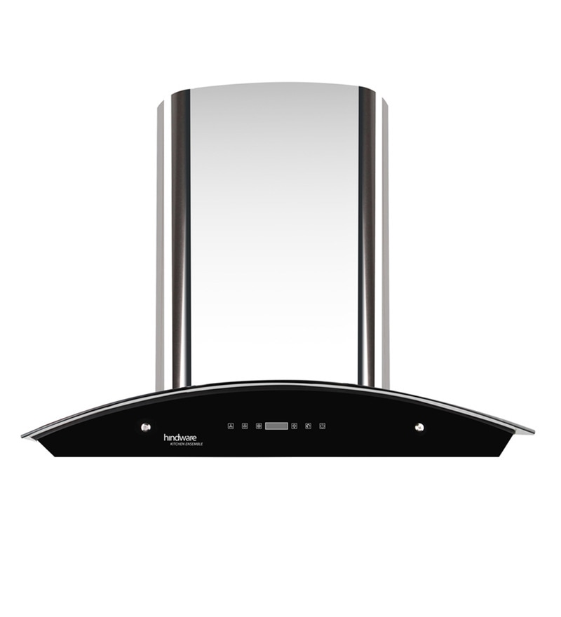 Hindware Nevio Stainless Steel 60 cm Auto Clean Hood Chimney