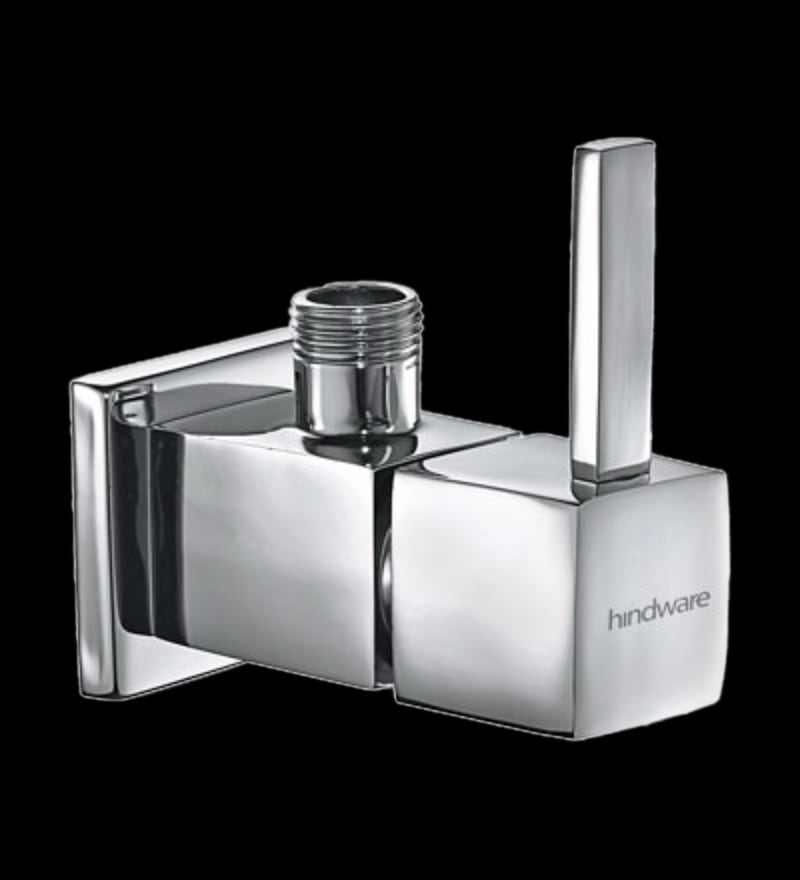 Hindware Rubbic Chrome Brass Stop Cock (Model: F190003Cp)