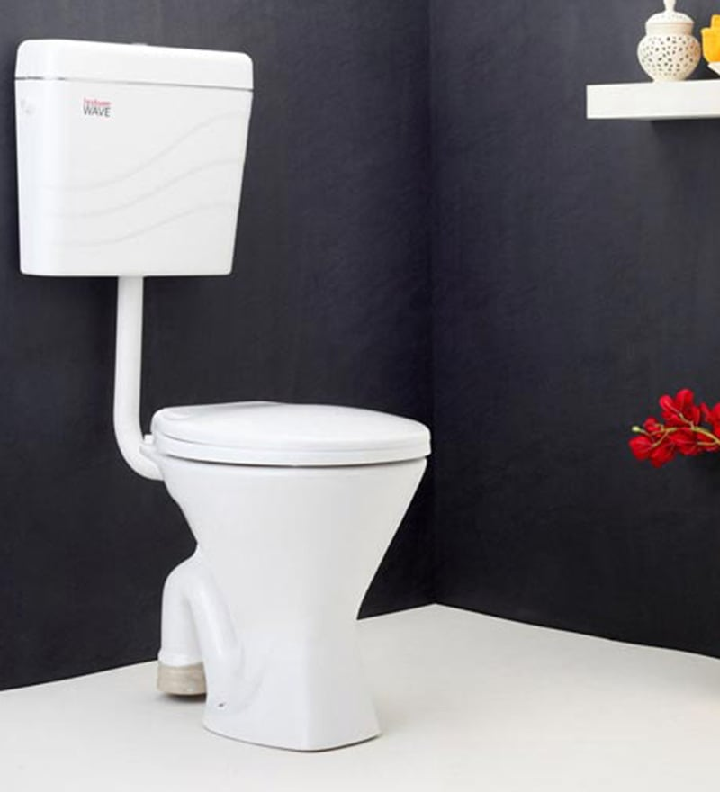 Hindware Starwhite White Ceramic Water Closet