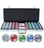 Hit Play 500 Chips Poker Game Set