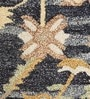 Blue Wool 60 x 96 Inch Area Rug by HNS Homes