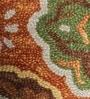 HNS Homes Orange Wool 60 x 96 Inch Area Rug