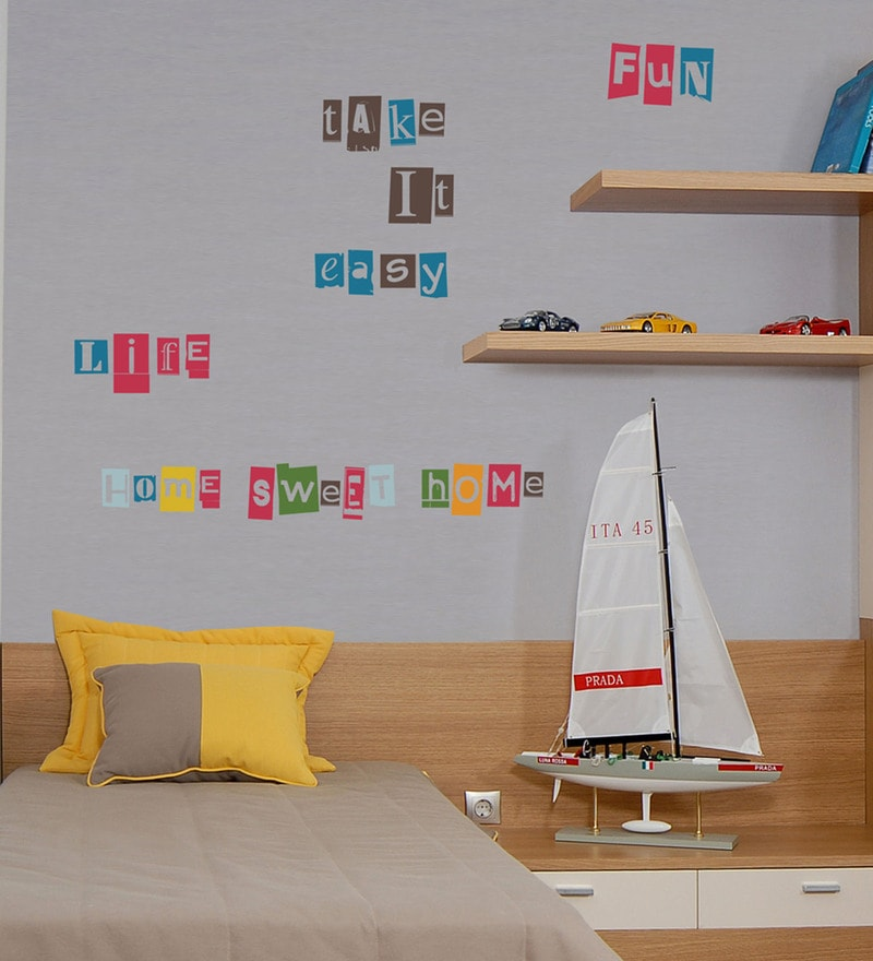 Vinyl Alphabet Wall Sticker by Home Decor Line