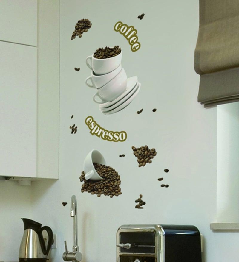 Vinyl Coffee Wall Sticker by Home Decor Line