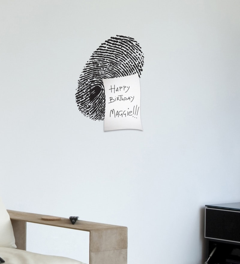 Vinyl FingerPrint Wall Sticker by Home Decor Line