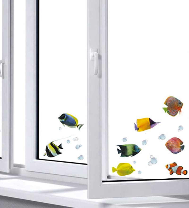 Vinyl Fishes Wall Sticker by Home Decor Line