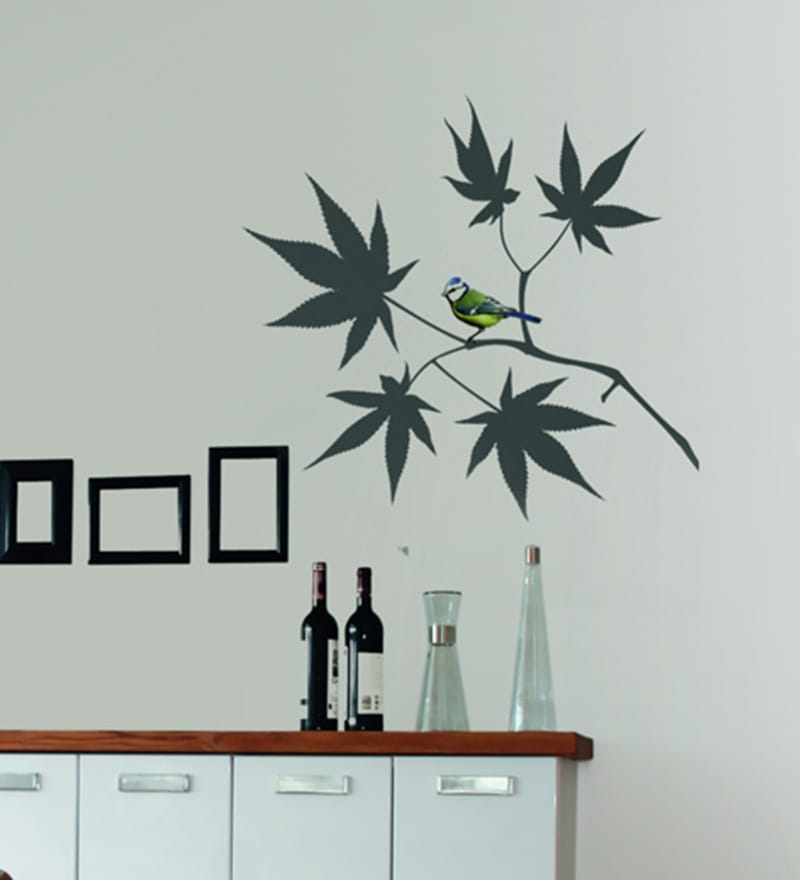 Vinyl Japanese Maple Wall Sticker by Home Decor Line
