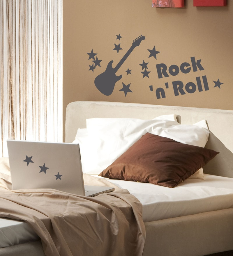 Vinyl Rock N Roll Wall Sticker by Home Decor Line
