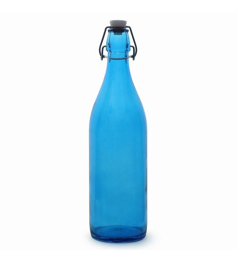 Buy Bormioli Rocco Giara Blue 1000 ML Bottle Online  : home maker bormioli rocco giara bottle blue blue home maker bormioli rocco giara bottle blue blue tj11jp from pepperfry.com size 800 x 880 jpeg 21kB