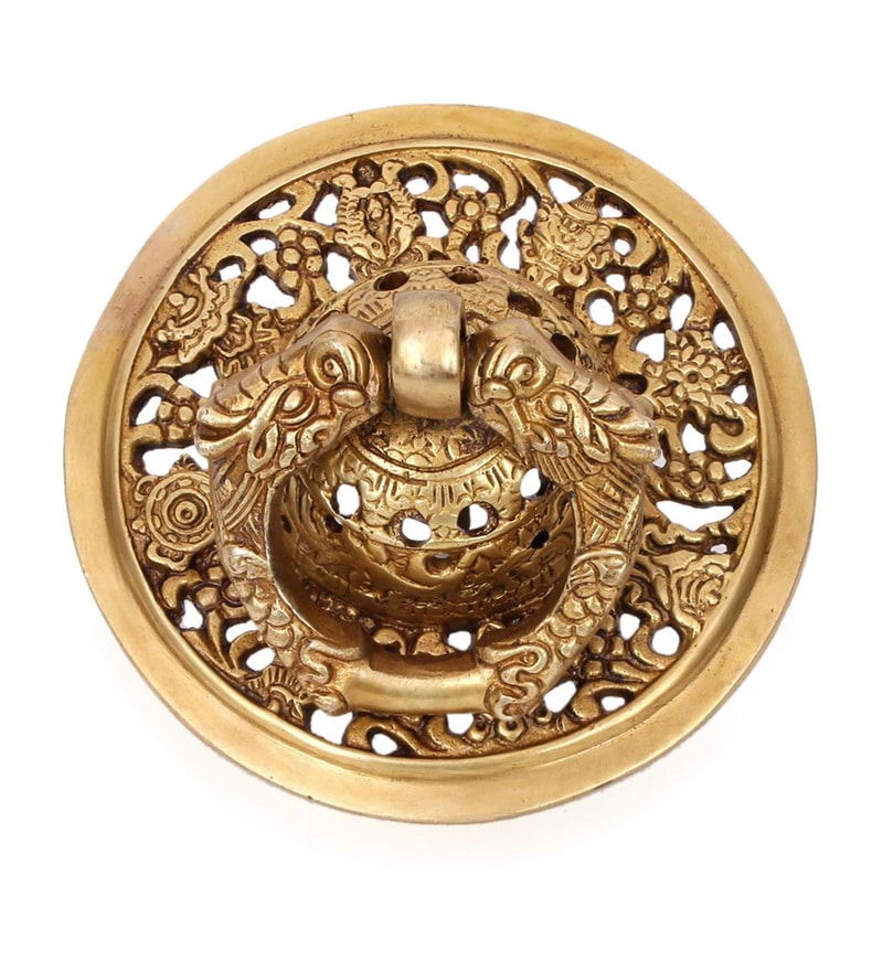 Home Sparkle Brass Door Knocker