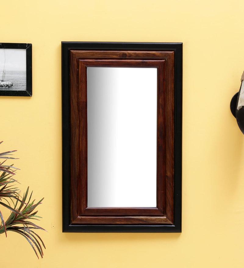 Buy Ferrara Design Silver Glass Eclisse Designer Wall Mirror Online ...