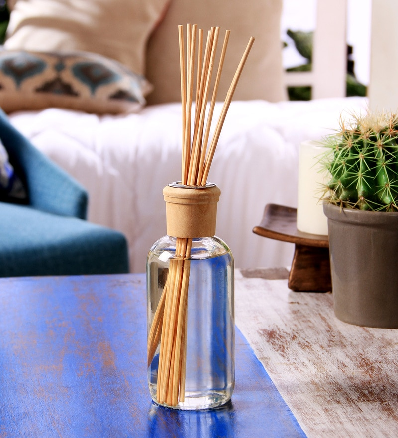 Vanilla Sandalwood 230 ML Highly Fragranced Reed Diffuser by Hosley