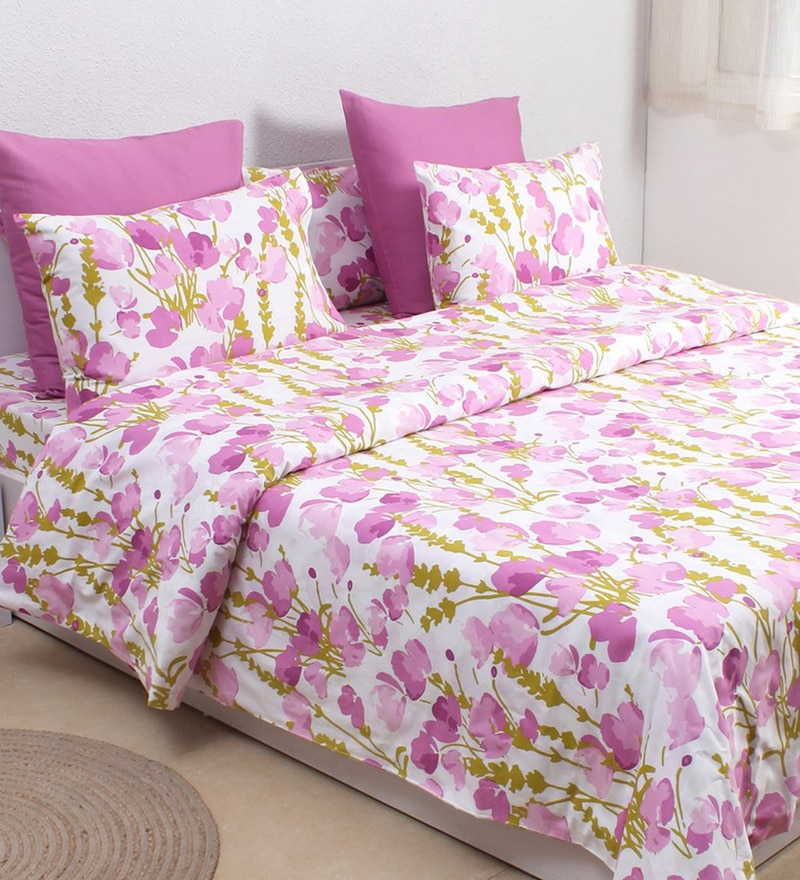 Purple 100% Cotton Single Size Dohar by House This