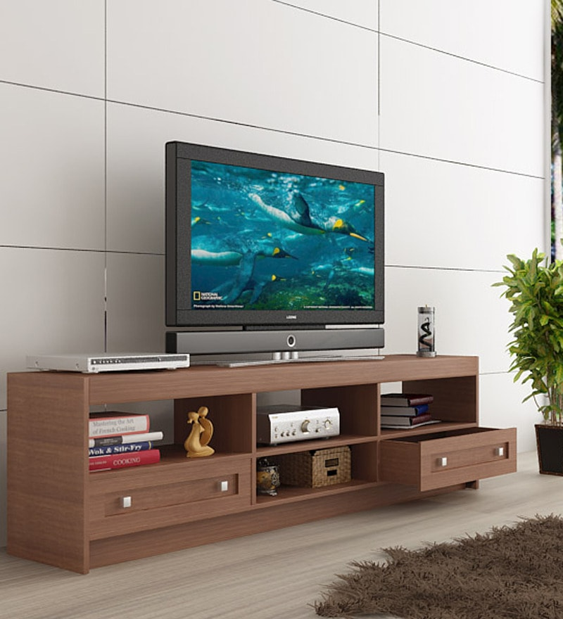 Buy Housefull Brooke TV Cabinet in Oak Finish Online - Modern - Book ...