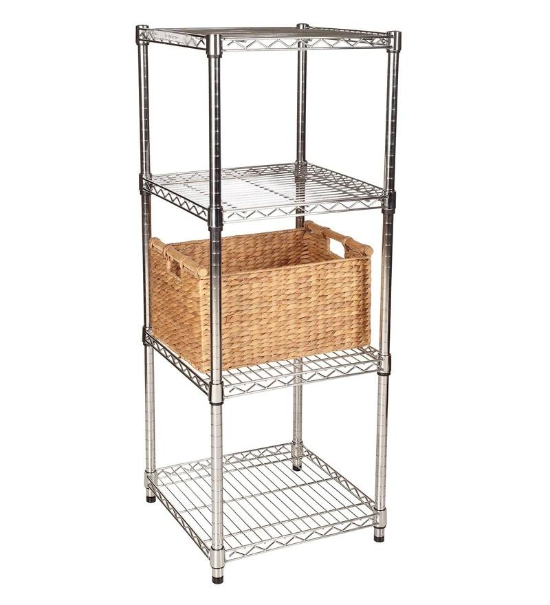 Howards Chrome 4 Shelves Rack