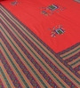 Multicolor Cotton Ethnic Double Bed Sheet Set (with Pillows) by Home Creation