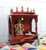 Honey MDF & Mango Wood Large Home Temple by Homecrafts