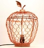 Homesake Copper Iron Apple Cage Table Lamp