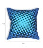 House This Blue Cotton 16 x 16 Inch Bike-Vroom Cushion Cover