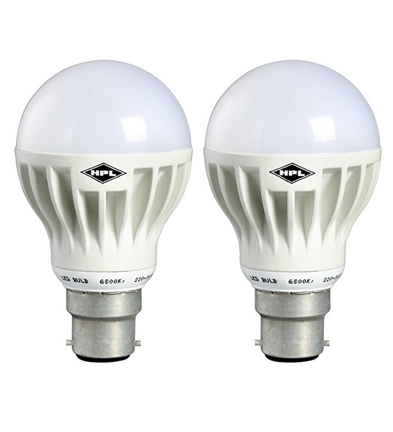 HPL White 18-Watt LED Bulbs - Set of 2