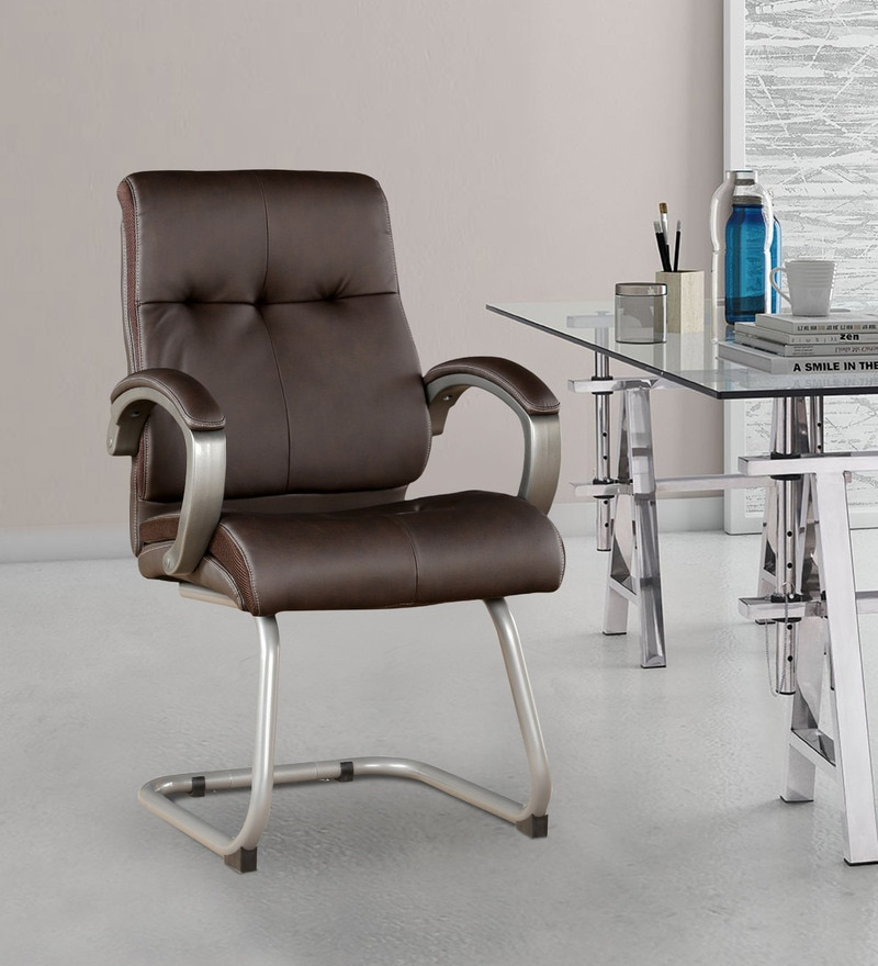 Hugo Leatherette Ergonomic Chair by Hometown