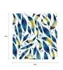 Hulkut Paper 24 x 24 Inch Leaves Unframed Digital Art Print