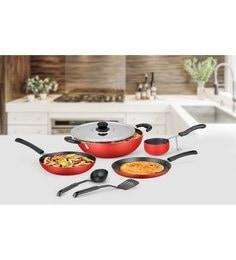 Ideale Aluminium Non Stick Cookware Set Of 7 - 1619041