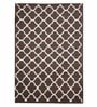 Imperial Knots Handmade Moroccan Brown Wool Area Rug