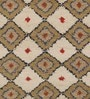 Imperial Knots Multicolour Wool 96 x 60 Inch Ethnic Carpet