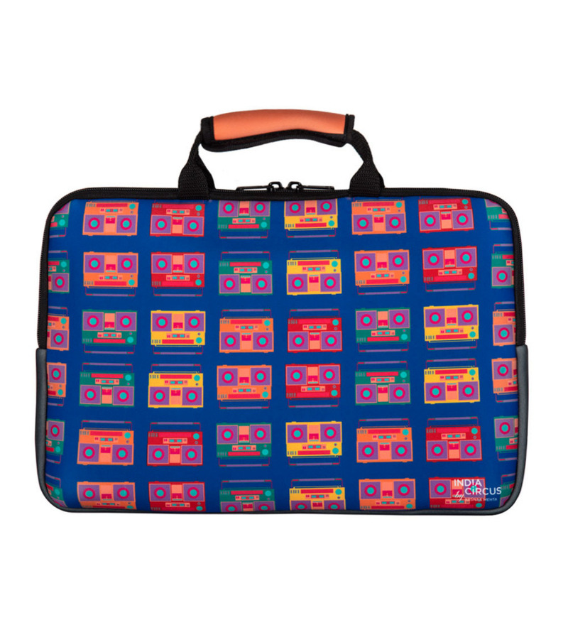 India Circus Box of Memories Neoprene Multicolour Laptop Bag