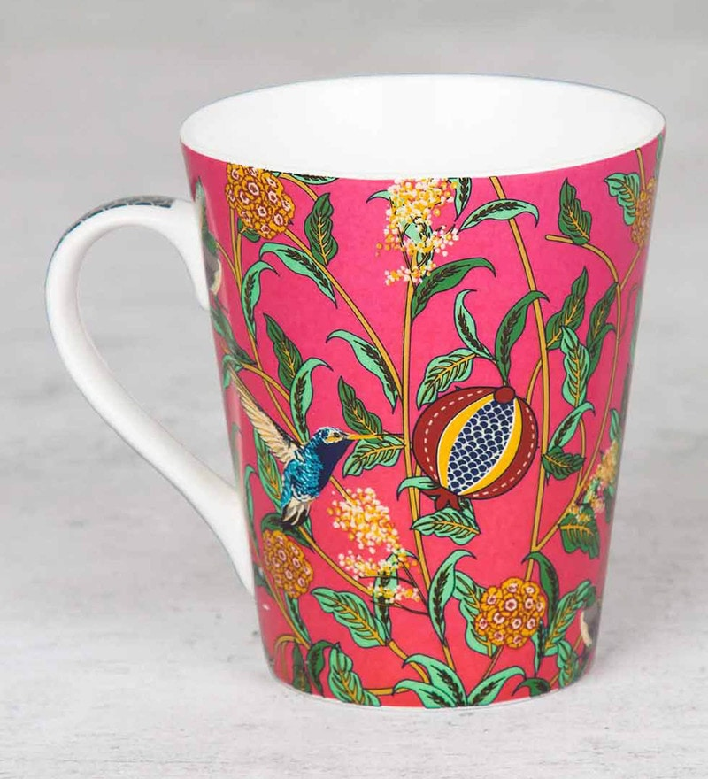India Circus Flights of Vivers Bone China Mug