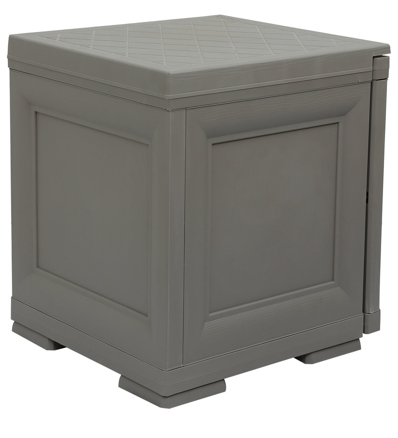 Buy Infiniti Storage Cabinet In Grey Colour By Cello